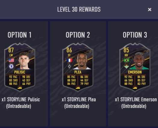 FIFA 21 ultimate team storyline objectives