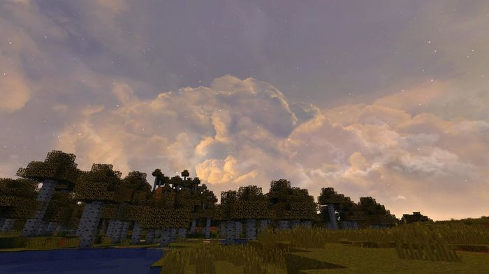 Minecraft Texture Pack Skies