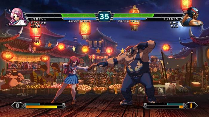 King of Fighters XIII Match