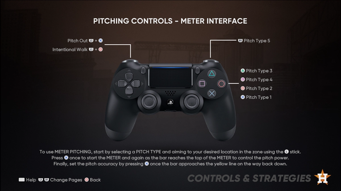 MLB The Show 21 Pitching Guide Controls Meter Interface