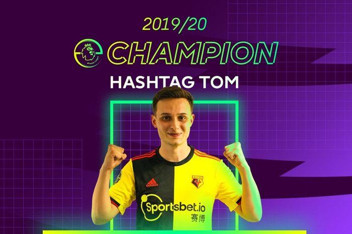 Hashtag Tom epl 19-20 champion Watford