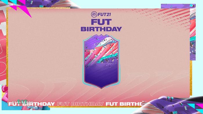 fifa 21 fut birthday card design