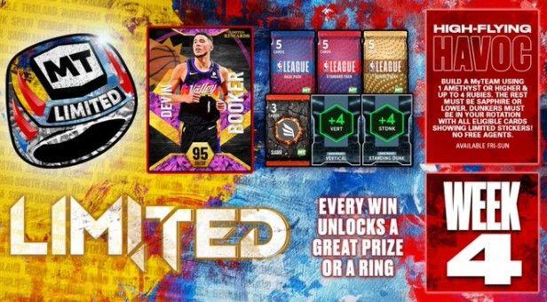 MyTEAM rewards in NBA 2K22