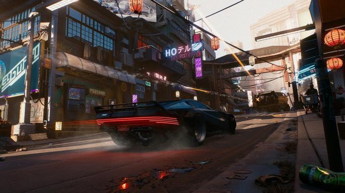 UNDER CONSTRUCTION: Hopefully, major improvements are coming to the roads of Night City