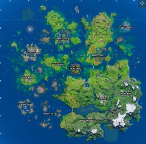 new map fortnite location