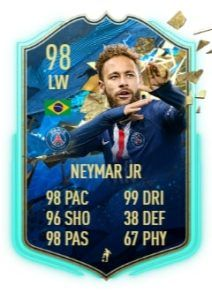 neymar jr totssf