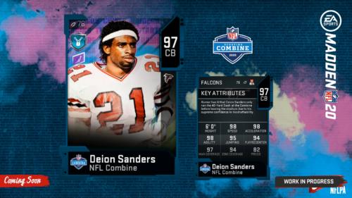 NFL combine master deion sanders