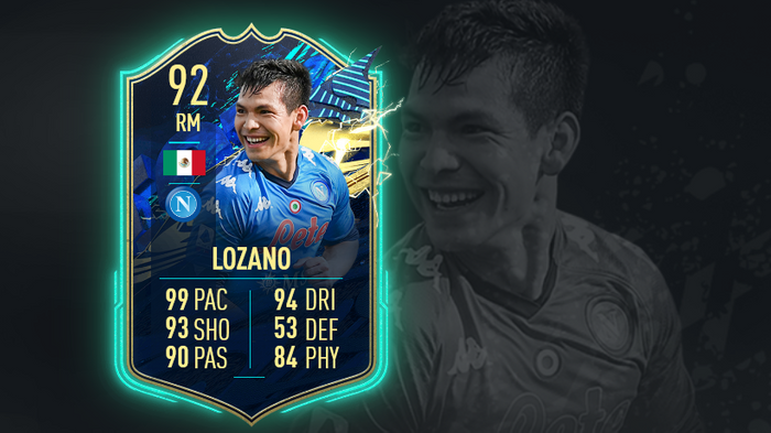 FIFA 21 Serie A Team of the Season TOTS SBC Hirving Lozano Ultimate Team FUT