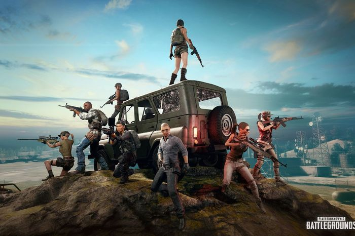 pubg's array of characters