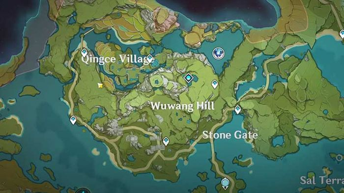 lotus head locations map
