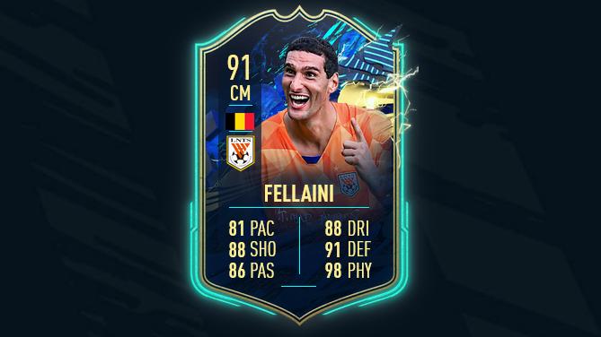 FIFA 21 TOTS CSL SBC Team of the Season Marouane Fellaini How to Unlock Ultimate