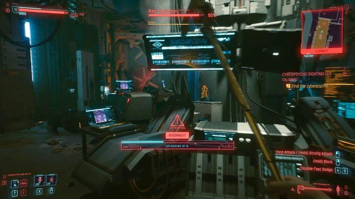 Cyberpunk 2077 Overheat Damage Cameras Hacking Uploading