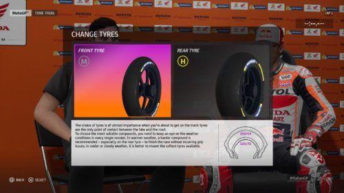 MotoGP™20 Tyre setup Italy