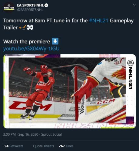 NHL 21 Gameplay Trailer