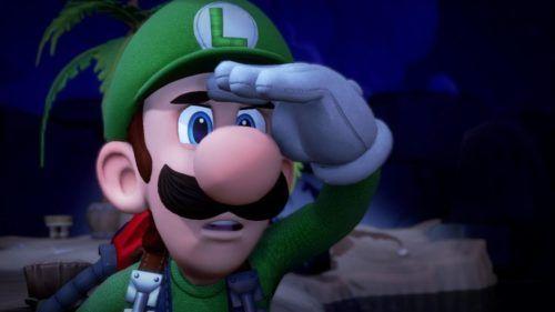 Luigi's Mansion 3 Nintendo Switch Key Art