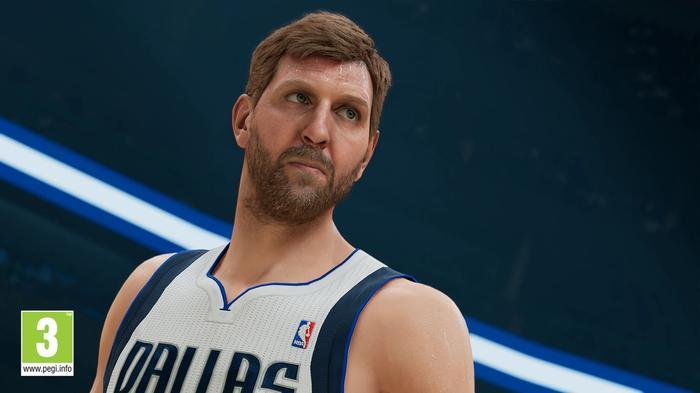 NBA 2K22 screenshot dirk nowitzki gameplay