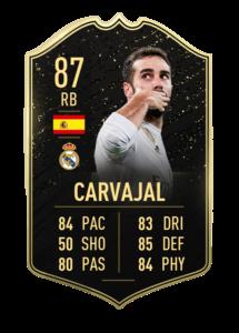 carvajal totw 25 fut card
