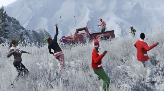 THROWBACK: Rockstar is likely to launch some extra festive treats