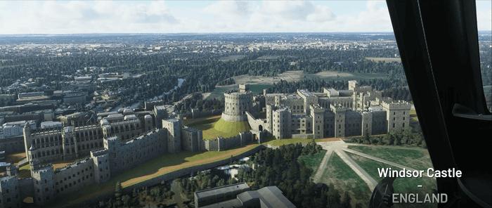 Microsoft Flight Simulator World Update 3 Windsor