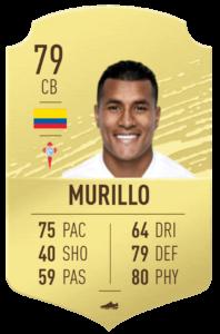 Murillo fut base card