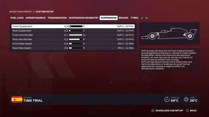 F1 2020 Spanish GP Suspension