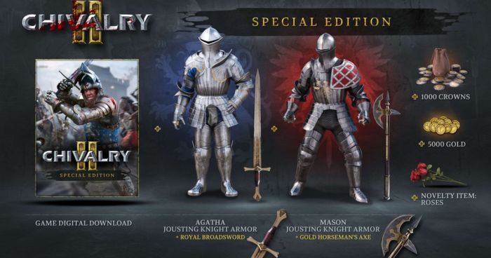 Chivalry 2 Special Edition Included Items