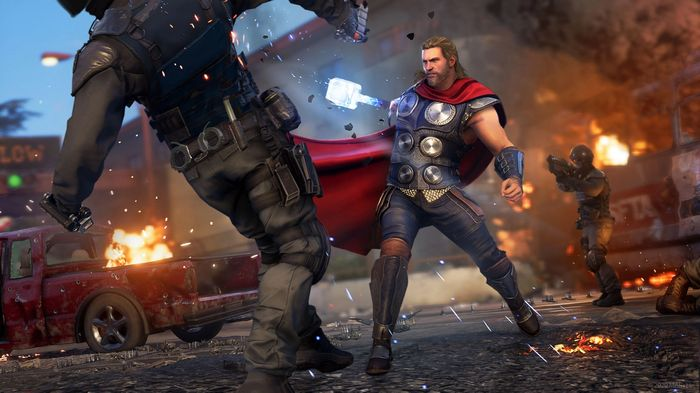 Avengers good Thor A-Day Melee