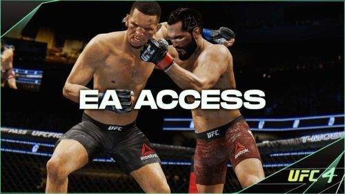 will ufc 4 be free on ea access