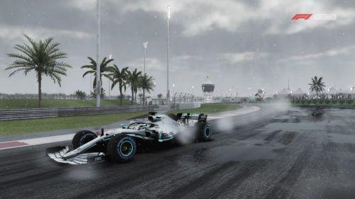 Wet race in F1 2019