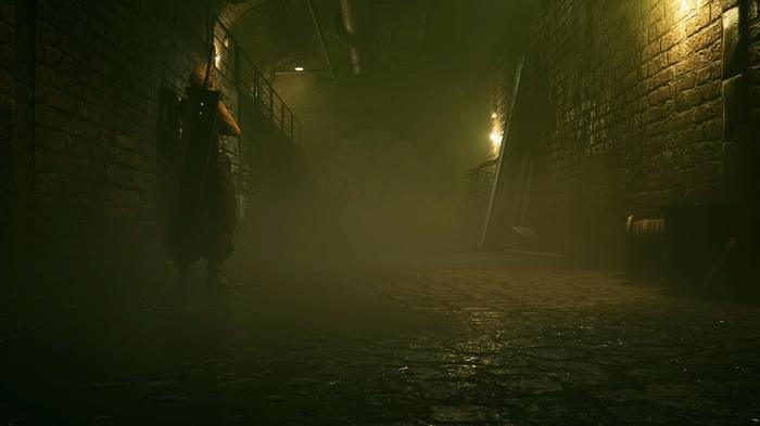 Final Fantasy 7 Remake Intergrade PS5 Fog
