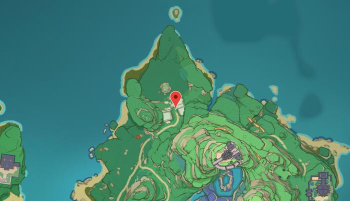 Genshin Impact Special Treasure 1 location