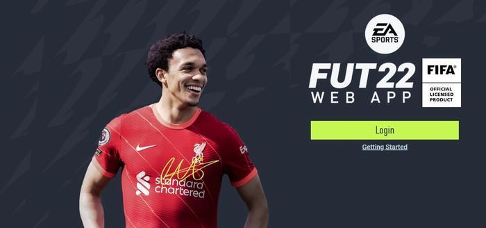 تطبيق ويب FUT 22 للعبة FIFA 22