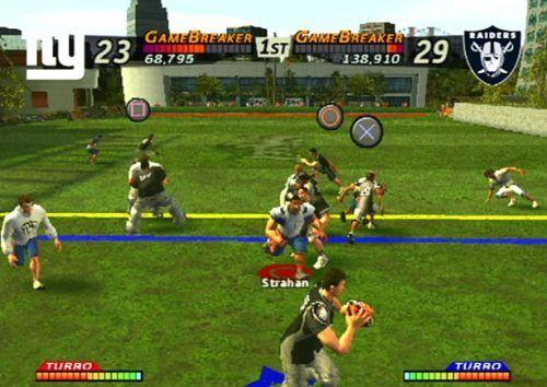 NFL Street gameplay