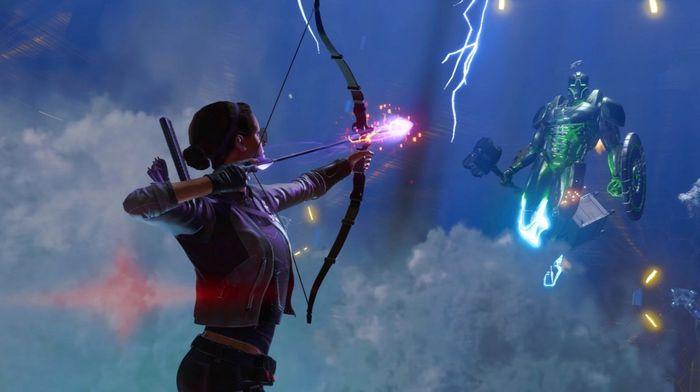Avengers good Kate Bishop Hawkeye Taking Aim Super Adaptoid