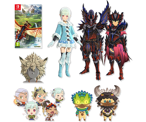 Monster Hunter Stories 2 Deluxe Edition Contents