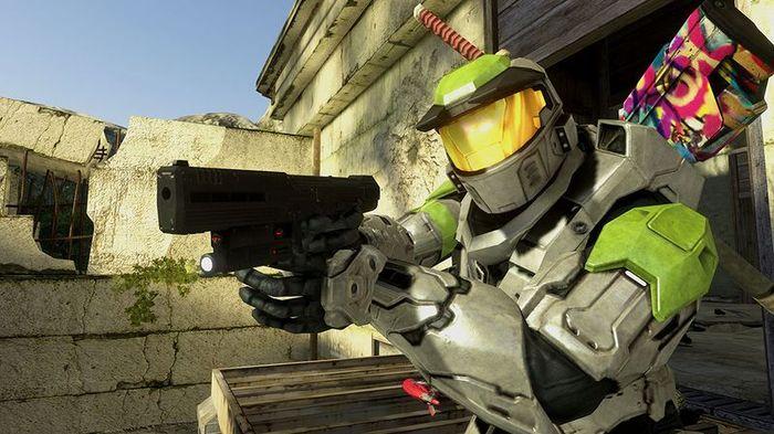 Halo multiplayer art