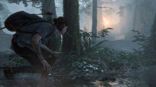 Ellie sneaks in The Last Of Us Part 2
