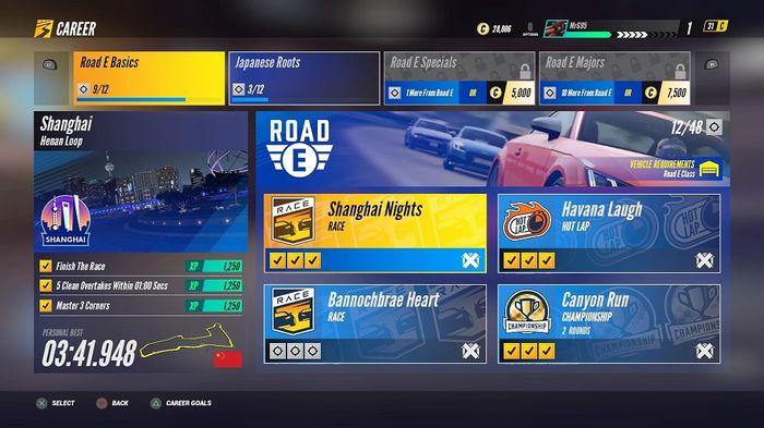 Project CARS 3 Races