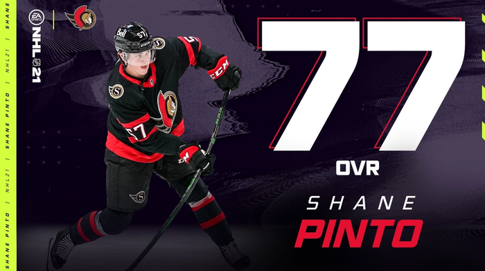 NHL 21 Shane Pinto Roster Update May 5