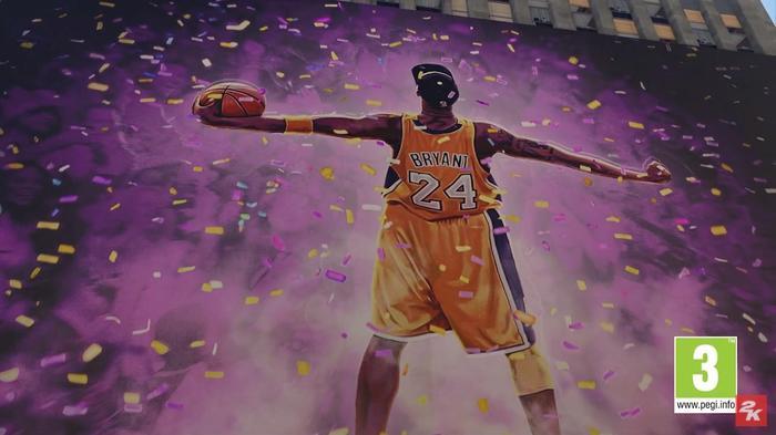NBA 2K21 Kobe Mural