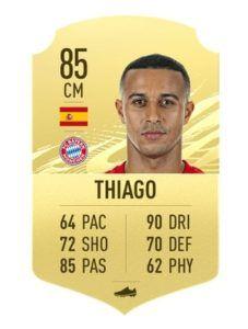 Thiago Alcantara FIFA 21