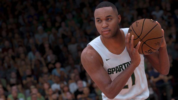 NBA 2K21 MyCAREER college ncaa basketball