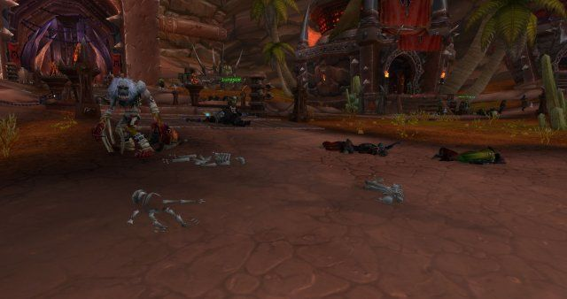 WoW Shadowlands Zombie Invasion Shadowlands Pre patch event