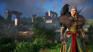 Assassin S Creed Valhalla God Of War Easter Egg Spotted In New Title