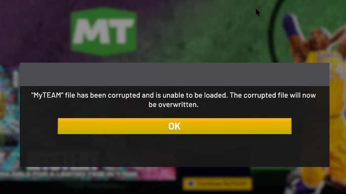 MyTEAM DOWN: The Ultimate Team mode has also been affected for some