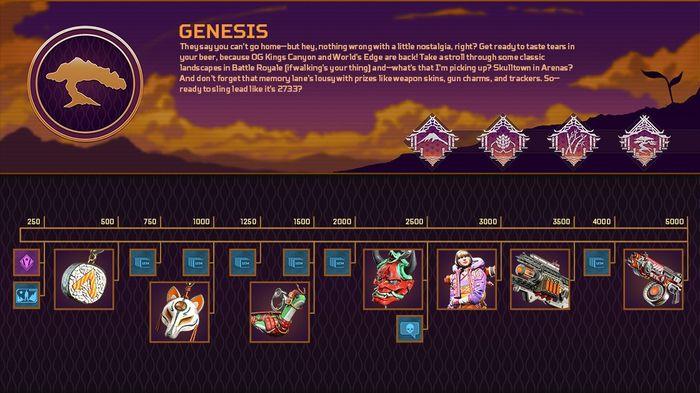 Apex Legends Genesis Event Reward Track Live Updates