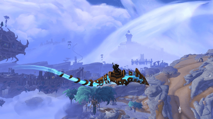 WoW Shadowlands Flying Zones The Maw