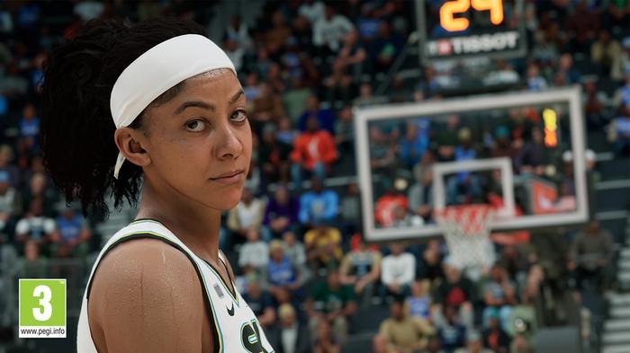 NBA 2K22 screenshot candace parker gameplay