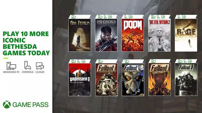 E3 2021 Day 2 Bethesda Xbox Game Pass