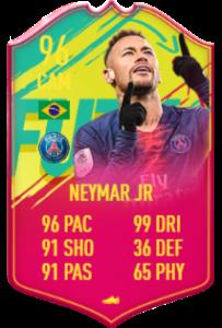 BALLER - 96 Neymar Jr was INCREDIBLE in FIFA 19